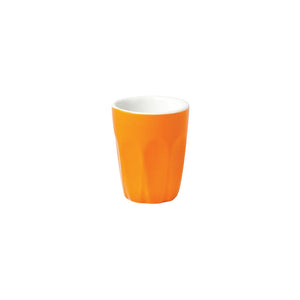 06.S10057.OR Incafe Orange Macchiato Cup Globe Importers Adelaide Hospitality Suppliers