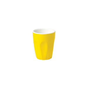 06.S10057.YL Incafe Yellow Macchiato Cup Globe Importers Adelaide Hospitality Suppliers