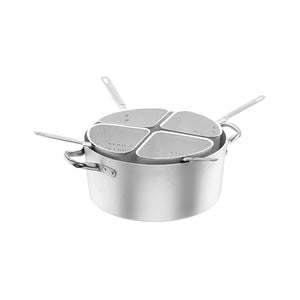 34-20337 Casserole with lid Stainless Steel Globe Importers Adelaide Hospitality Supplies