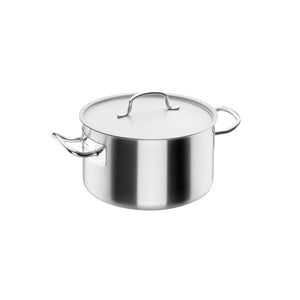 34-50025 Saucepot with lid Stainless Steel Globe Importers Adelaide Hospitality Supplies