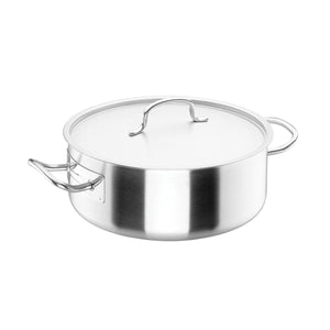 34-50028 Casserole with lid Stainless Steel Globe Importers Adelaide Hospitality Supplies
