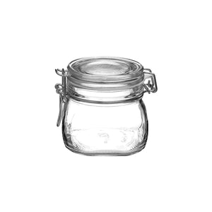CC6411666 Luigi Bormioli Lock-Eat Glass Food Jar Globe Importers Adelaide Hospitality Suppliers