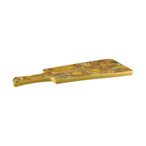 460002 Cheforward Lapis Rectangular Paddle Board Gold Canyon Jasper Agate Globe Importers Adelaide Hospitality Supplies
