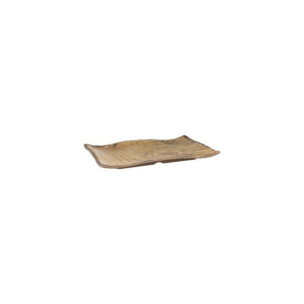 461013 Cheforward Transform Wood Grain Rectangular Platter Globe Importers Adelaide Hospitality Supplies