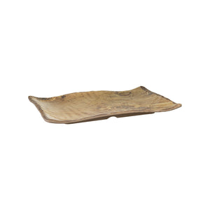 461040 Cheforward Transform Wood Grain Rectangular Platter Globe Importers Adelaide Hospitality Supplies