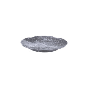 462025-WP Cheforward Endure Weathered Pewter Round Plate Globe Importers Adelaide Hospitality Supplies