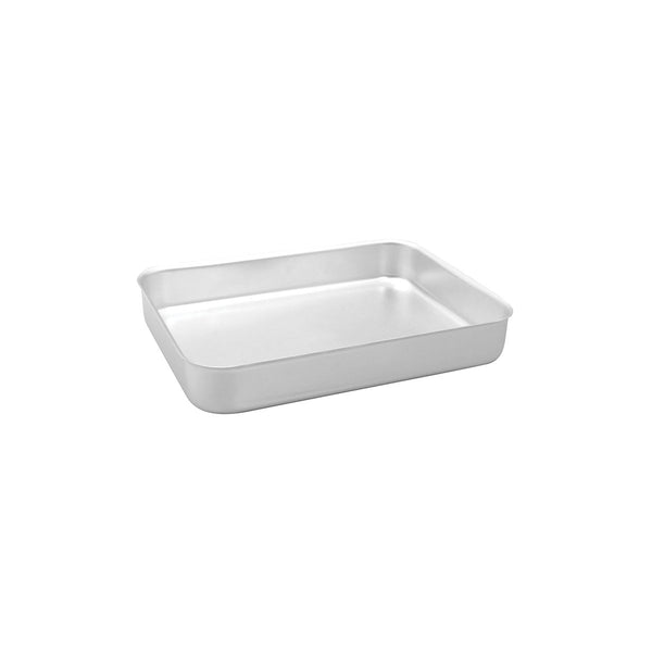 53681-TR Sunnex Baking / Roast Pan Aluminium Straight Sided and No Handles Globe Importers Adelaide