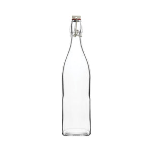 68501 Trenton Basics Glass Swing Top Bottles Square Globe Importers Adelaide Hospitality Suppliers
