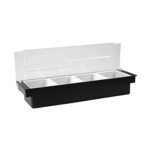 70832 Condiment Dispenser Plastic - 4 Compartment Globe Importers Adelaide Hospitality Suppliers
