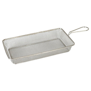 73731 Moda Brooklyn Rectangular Service Basket - Stainless Steel Globe Importers Adelaide Hospitality Suppliers
