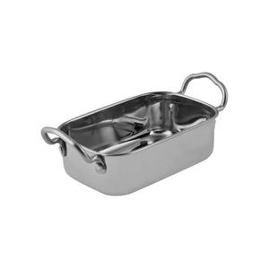 76550 Moda Soho Mini Roast Pan - Stainless Steel Globe Importers Adelaide Hospitality Suppliers