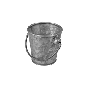 76602 Moda Brooklyn Mini Pail - Galvanised Globe Importers Adelaide Hospitality Suppliers