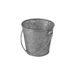 76603 Moda Brooklyn Mini Pail - Galvanised Globe Importers Adelaide Hospitality Suppliers