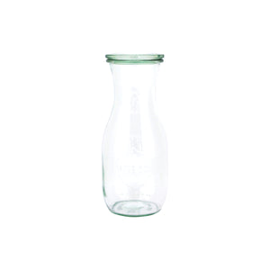 82384-T Weck Cylinder Glass Bottle With Lid Globe Importers Adelaide Hospitality Suppliers