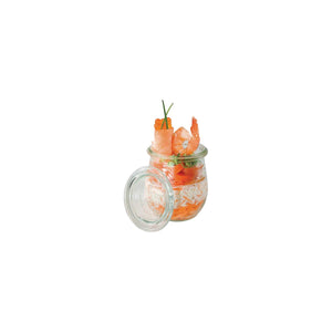 CC6411663 Luigi Bormioli Lock-Eat Glass Food Jar Globe Importers Adelaide Hospitality Suppliers
