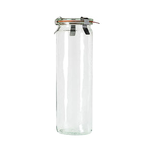 82386-T Weck Cylinder Glass Bottle With Lid Globe Importers Adelaide Hospitality Suppliers