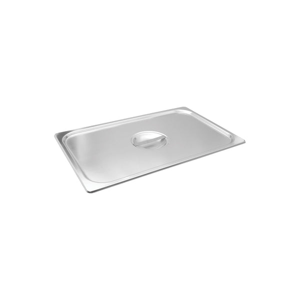 8711000 1/1 Size Steam Pan Covers Stainless Steel Globe Importers Adelaide Hospitality Supplies