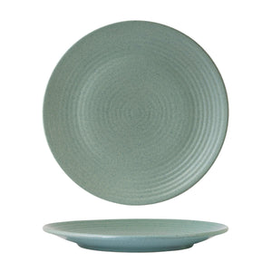 MINT ROUND RIBBED PLATE