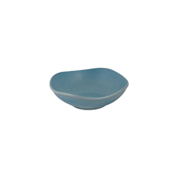 DENIM ORGANIC SHAPE BOWL