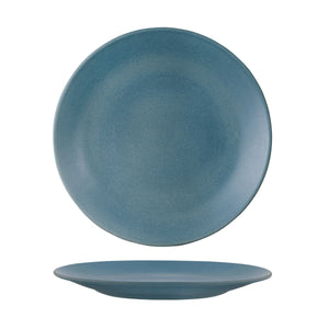 DENIM ROUND COUPE PLATE