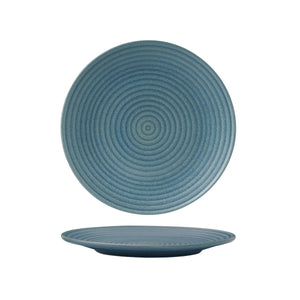 DENIM ROUND RIBBED PLATE