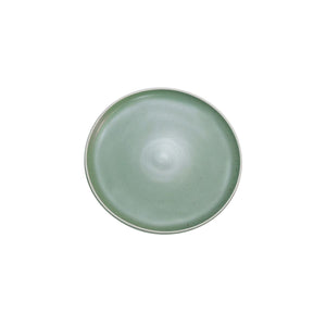 908108 Tablekraft Urban Green Round Coupe Plate Globe Importers Adelaide Hospitality Supplies