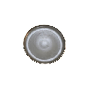 908308 Tablekraft Urban Dark Grey Round Coupe Plate Globe Importers Adelaide Hospitality Supplies