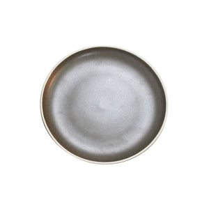 908310 Tablekraft Urban Dark Grey Round Coupe Plate Globe Importers Adelaide Hospitality Supplies