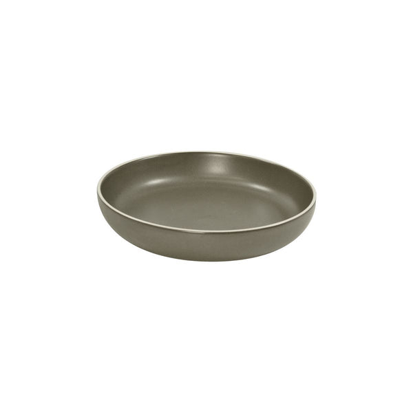 908318 Tablekraft Urban Dark Grey Bowl Flared Globe Importers Adelaide Hospitality Supplies