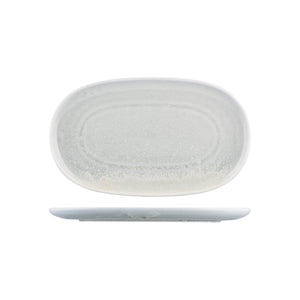 926744 Moda Porcelain Willow Oval Coupe Plate Globe Importers Adelaide Hospitality Supplies