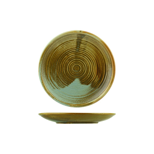 NOURISH ROUND COUPE PLATE