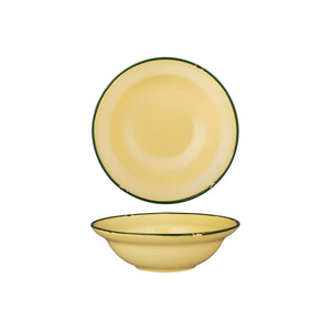 94127-SG Luzerne Tintin Sand Green Round Deep Plate / Bowl Globe Importers Adelaide Hospitality Supplies