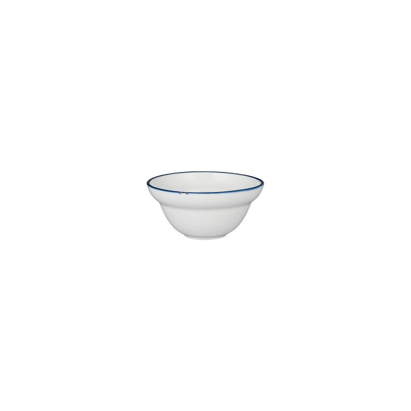 TINTIN - WHITE / NAVY ROUND BOWL