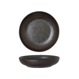 LAVA BLACK ROUND SHARE BOWL