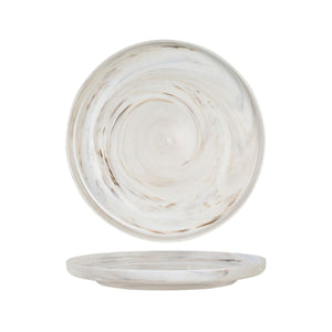 946011 Luzerne Signature Marble Round Plate - Vertical Rim Globe Importers Adelaide Hospitality Supplies