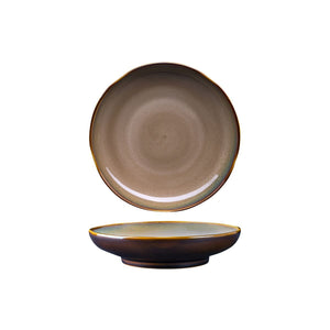 RUSTIC SAMA ROUND BOWL / PLATE