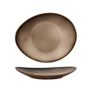 RUSTIC SAMA OVAL COUPE PLATE