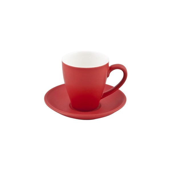 978242 Bevande Rosso Cappuccino Cup Globe Importers Adelaide Hospitality Supplies