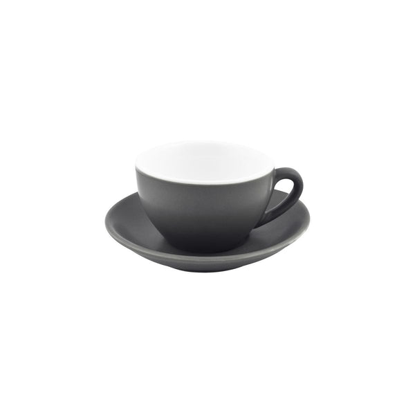 978354 Bevande Slate Coffee / Tea Cup Globe Importers Adelaide Hospitality Supplies