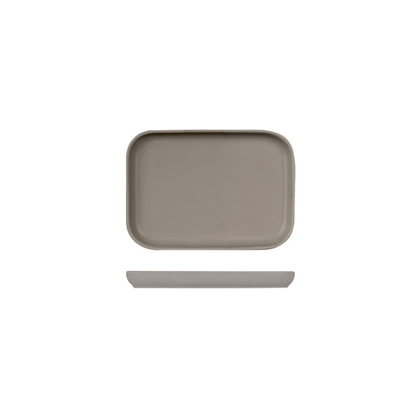 SERVIRE RECTANGULAR TRAY - STONE