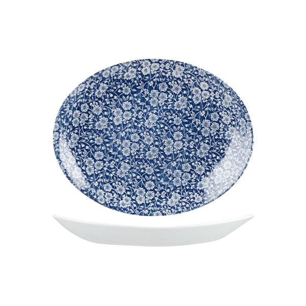 VINTAGE PRINTS ROUND COUPE PLATE
