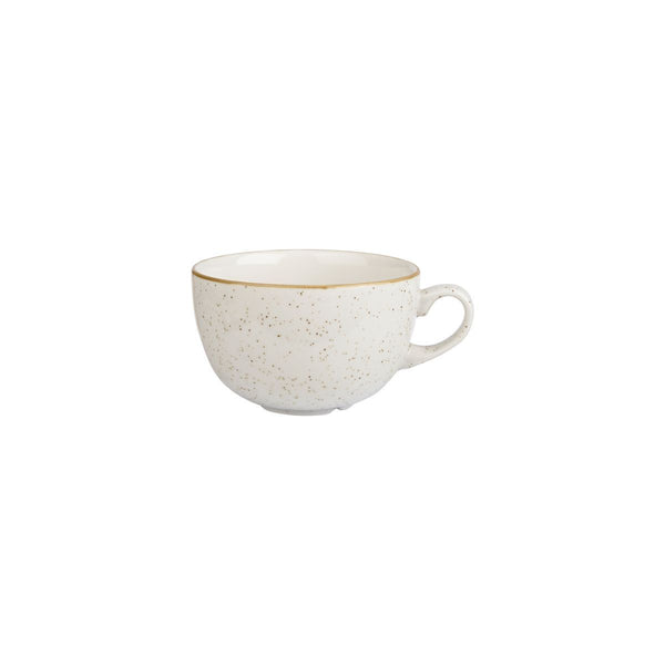 9975008-W Stonecast Barley White Cappuccino Cup Globe Importers Adelaide Hospitality Supplies