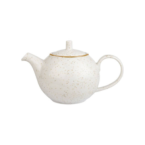 BARLEY WHITE BEVERAGE POT
