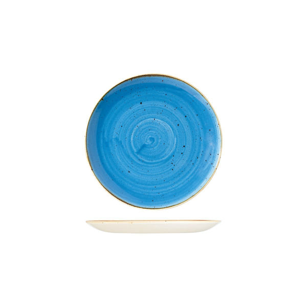 9975116-B Stonecast Cornflower Round Coupe Plate Globe Importers Adelaide Hospitality Supplies