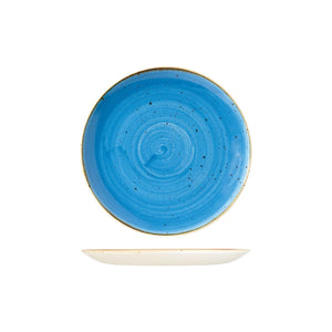 9975122-B Stonecast Cornflower Round Coupe Plate Globe Importers Adelaide Hospitality Supplies