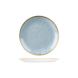 DUCK EGG ROUND COUPE PLATE