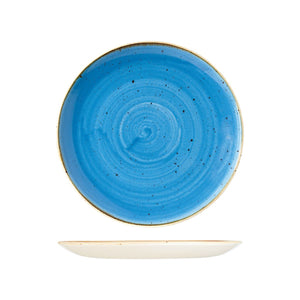 9975126-B Stonecast Cornflower Round Coupe Plate Globe Importers Adelaide Hospitality Supplies