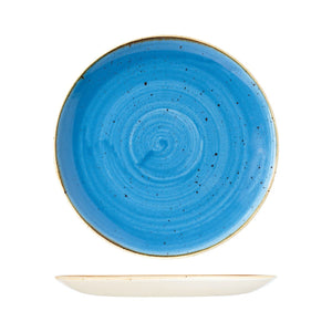 9975129-B Stonecast Cornflower Round Coupe Plate Globe Importers Adelaide Hospitality Supplies