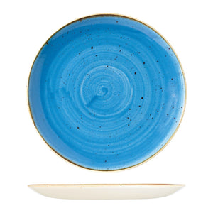 9975131-B Stonecast Cornflower Round Coupe Plate Globe Importers Adelaide Hospitality Supplies