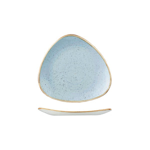 DUCK EGG TRIANGULAR PLATE